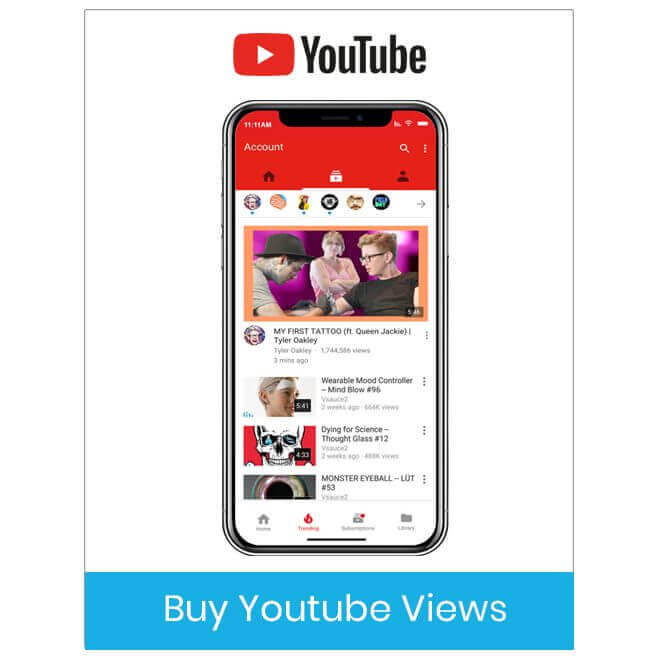 Buy Youtube Views & Subscribers - 100% Real & Fast Views at